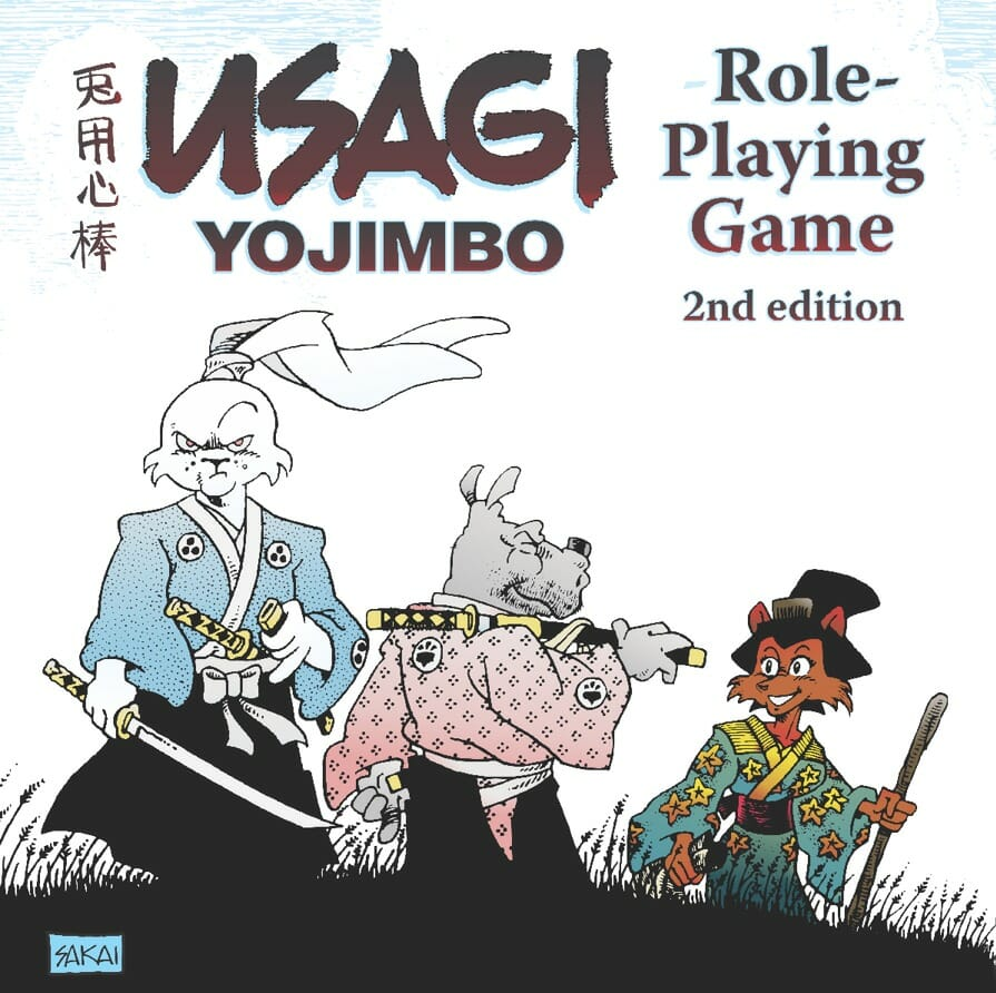 Usagi Yojimbo 2nd edition RPG