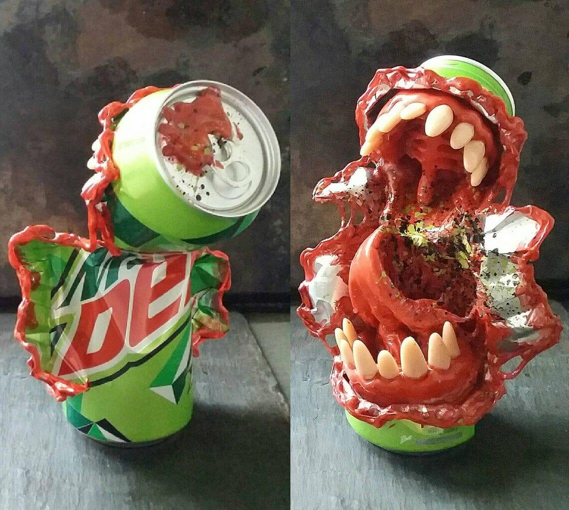 Travis Mullins Mountain Dew monster