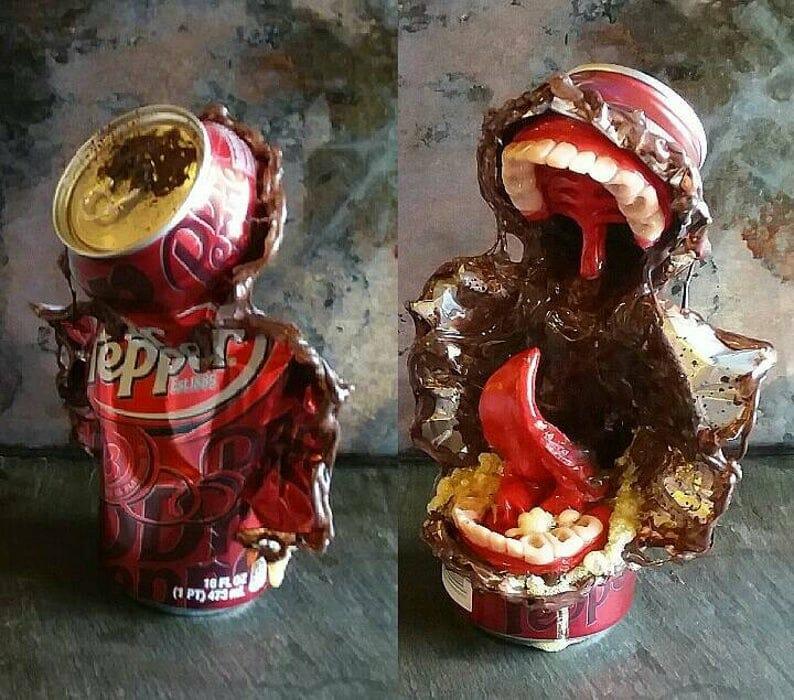 Travis Mullins dr pepper monster