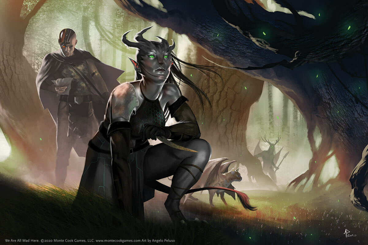 We Are All Mad Here by Monte Cook Games