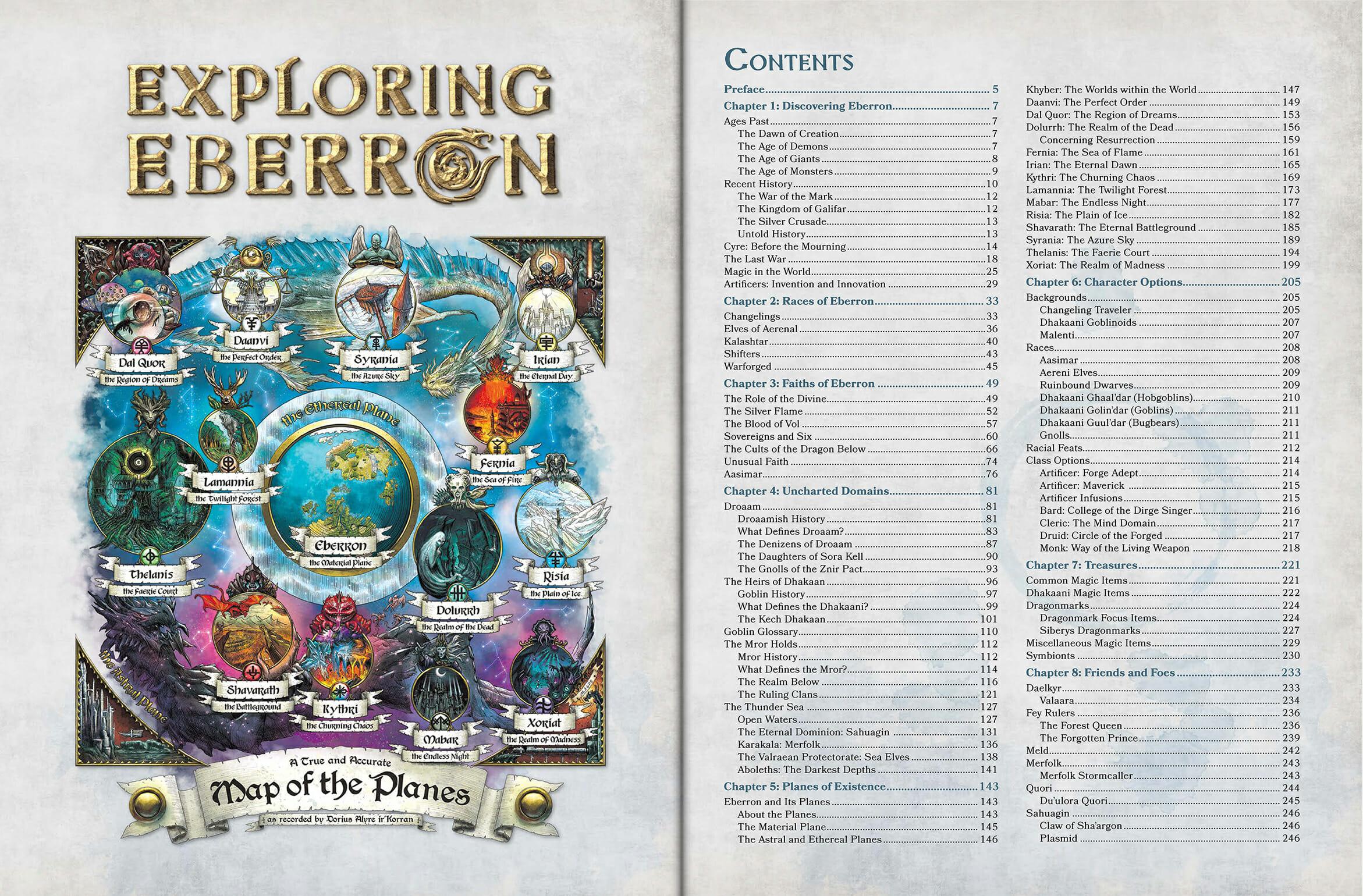 Exploring Eberron