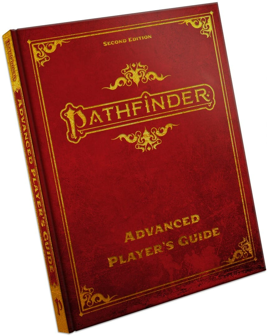 Pathfinder Advanced Player's Guide Special Edition Hardcover