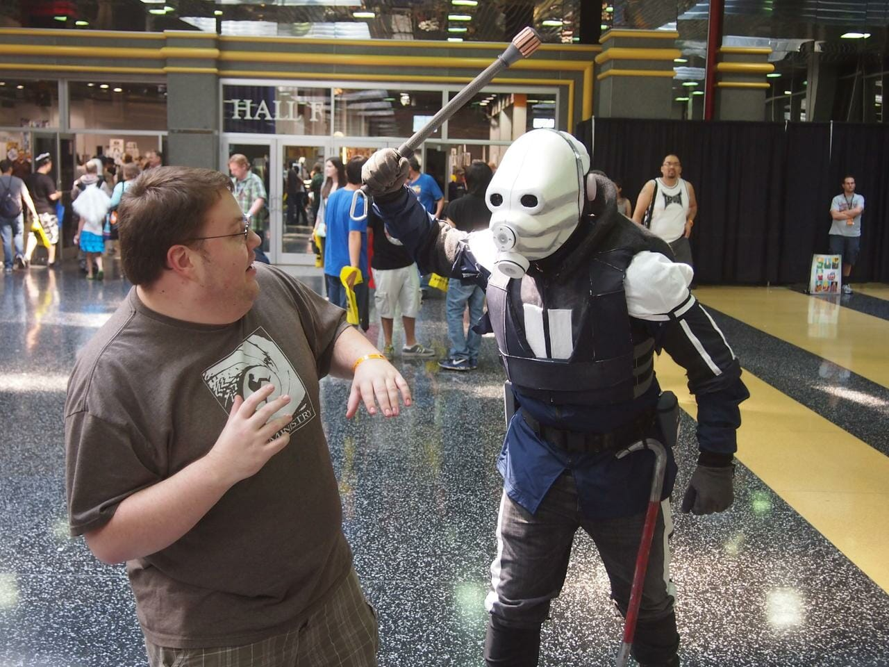 Civil Protection @ Wizard World by Kay Kove