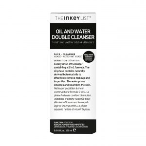 The Inkey List Oil & Water Double Cleanser (150ml)