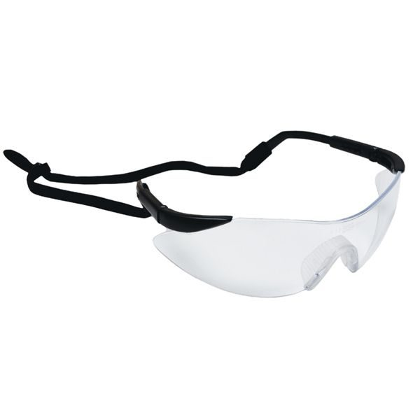Wrap Around Safety Goggles with Cord