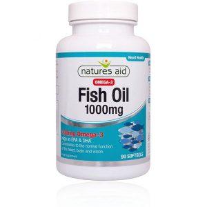 Natures Aid Fish Oil 1000mg Softgels (90)