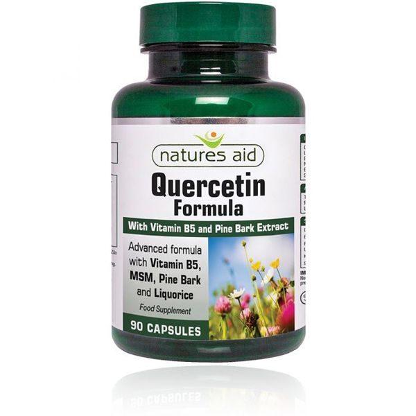 Natures Aid Quercetin Formula – (90) Capsules