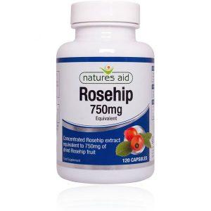 Natures Aid Rosehip – (120) Capsules