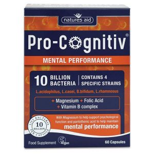 Natures Aid Pro Cognitiv (10 Billion Bacteria) Capsules (60)