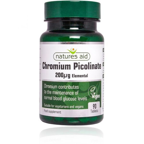 Natures Aid Chromium Picolinate Tablets (90)