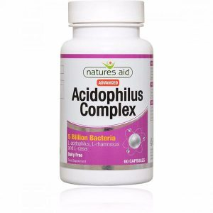 Natures Aid Acidophilus Complex 5 Billion Capsules (90)