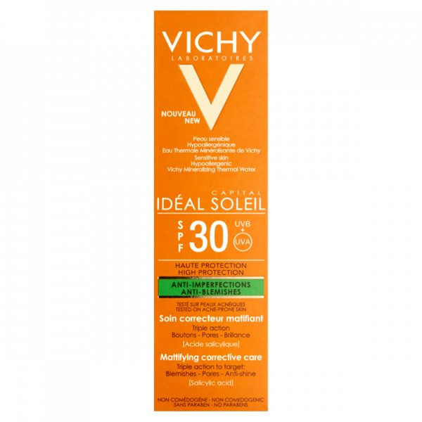 Vichy Idéal Soleil Anti-Blemish Lotion SPF30 50ml