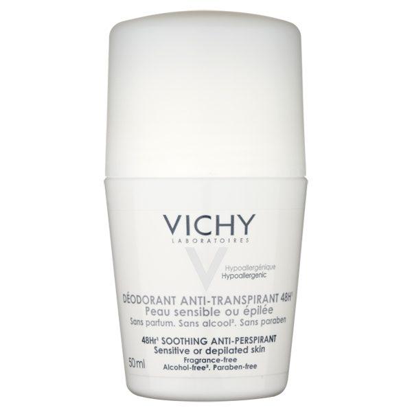 Vichy 48hr Fragrance Free Deodorant For Sensitive Skin 50ml