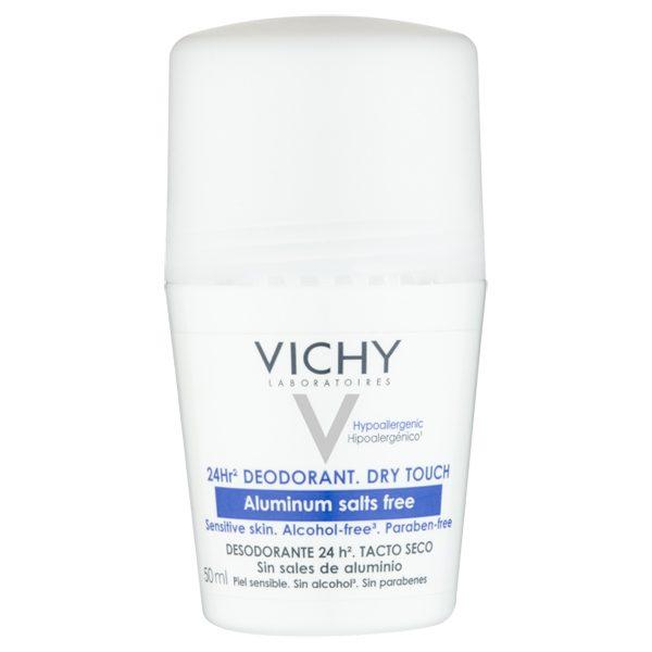 Vichy 24hr Aluminium Salt-Free Deodorant Roll-on 50ml