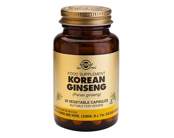 Solgar Korean Ginseng Capsules (50)