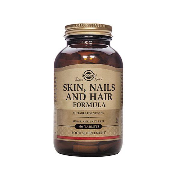 Solgar Skin, Nails and Hair Formula – (60) Tablets