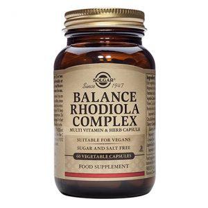 Solgar Balance Rhodiola Complex – (60) Vegetarian Capsules