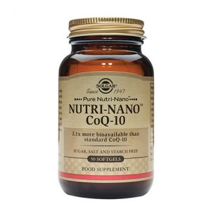 Solgar Nutri-Nano CoQ-10 Softgels (50)