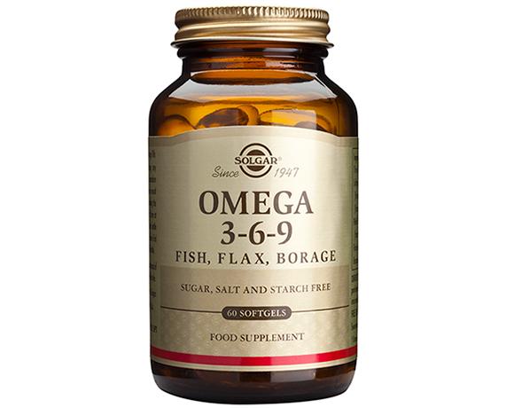 Solgar Omega 3-6-9 Softgels – (120) Capsules