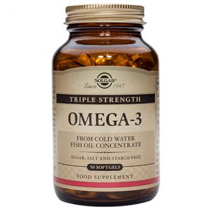 Solgar Triple Strength Omega-3 Softgels (50)