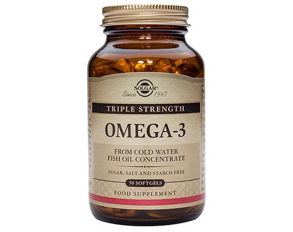 Solgar Triple Strength Omega-3 Softgels (50)