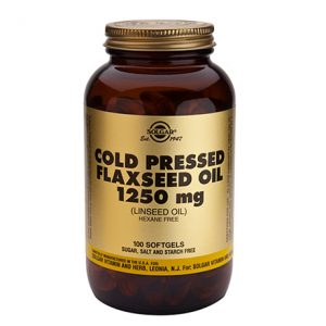 Solgar Flaxseed Oil 1250mg Softgels (100)