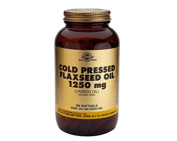 Solgar Flaxseed Oil 1250mg Softgels (100)