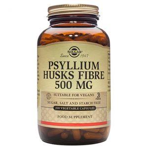 Solgar Psyllium Husks Fibre 500mg  capsules (200)