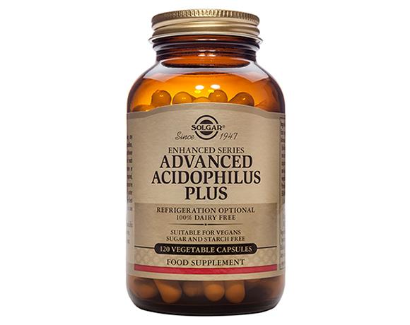 Solgar Advanced Acidophilus Plus – (60) Vegetarian Capsules