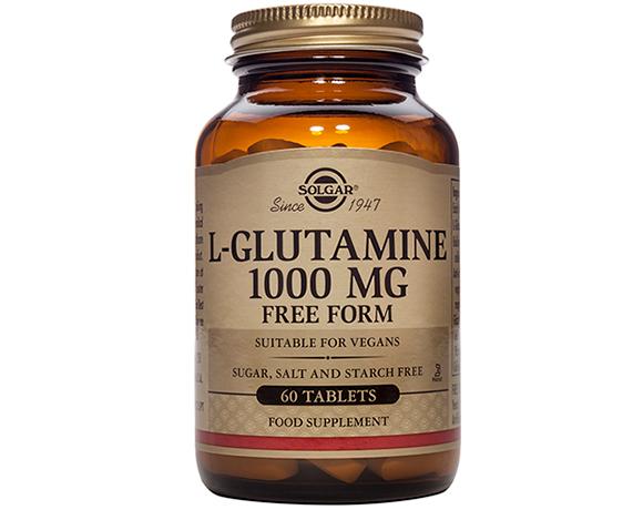 Solgar L-Glutamine 1000 mg – (60) Tablets