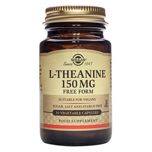 Solgar L-Theanine 150 mg – (60) VegetarianCapsules