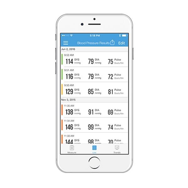 iHealth Wireless BP Wrist Monitor