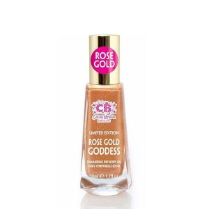 Cocoa Brown Rose Gold Goddess Shimmer Oil (50ml)