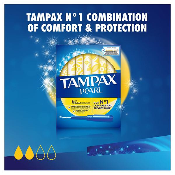 Tampax Pearl Regular Applicator Tampons