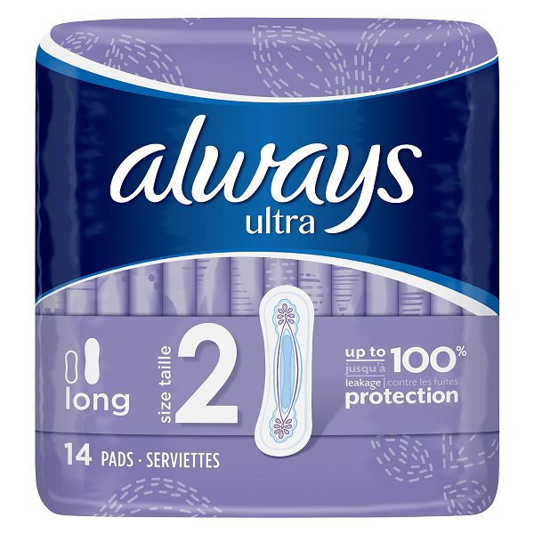 Always Ultra Long Sanitary Pads