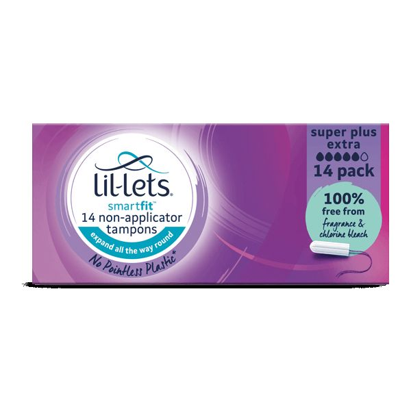 Lil-Lets Smartfit Non-Applicator Super Plus Extra Tampons