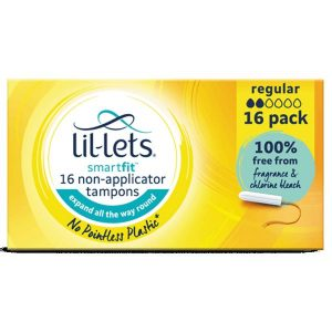 Lil-Lets Smartfit Non-Applicator Regular Tampons