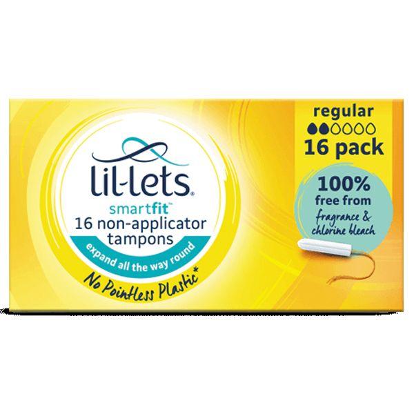 Lil-Lets Smartfit Non-Applicator Regular Tampons