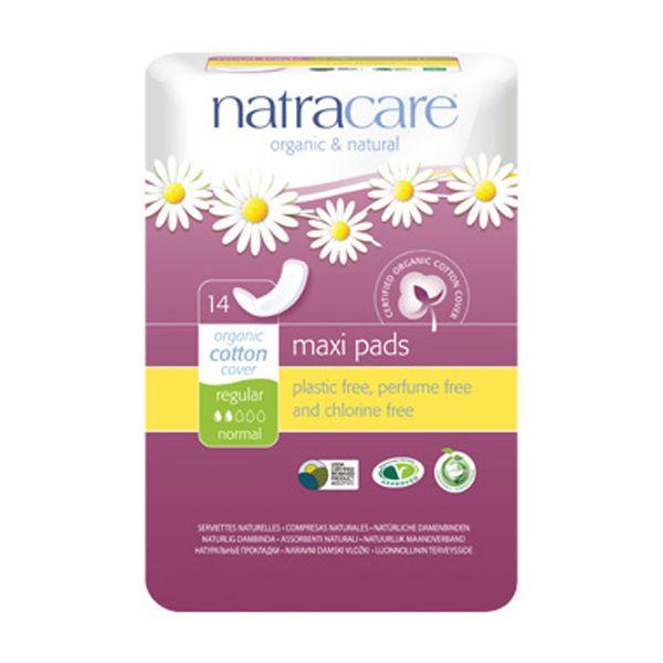 Natracare Regular Natural Maxi Pads