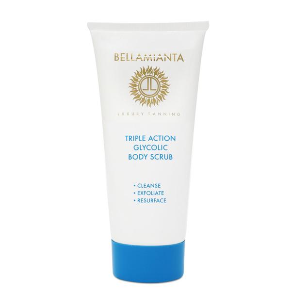 Bellamianta Triple Action Glycolic Body Scrub 200ml