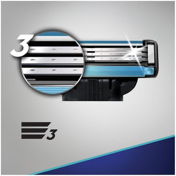 Gillette Mach3 Razor Blades 4pk