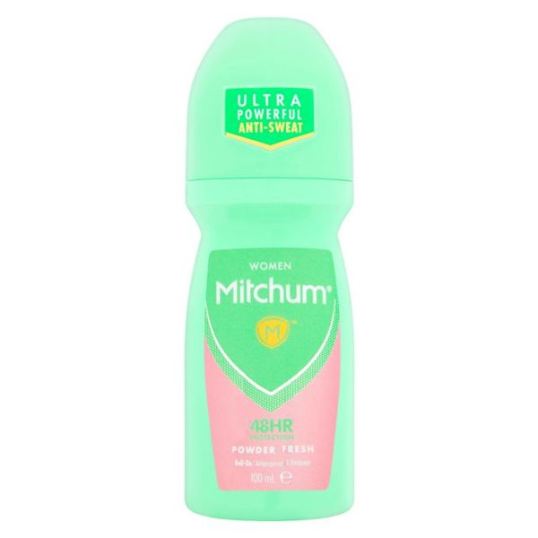 Mitchum Women Powder Fresh Anti-Perspirant & Deodorant 100ml