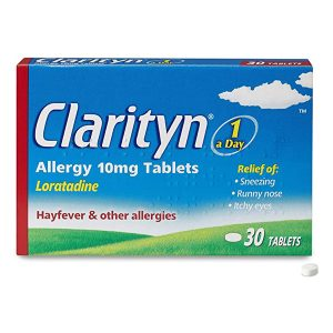 Clarityn Loratidine 10mg Allergy Tablets