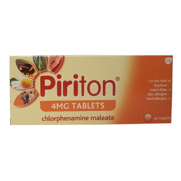 Piriton Tablets 4mg (30)