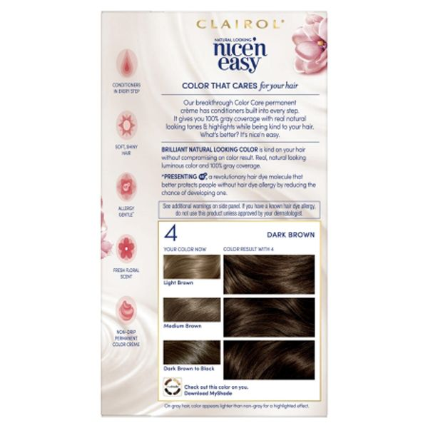 Clairol Nice and Easy Permanent Hair Dye