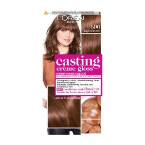 L'Oreal Casting Creme Gloss Semi Permanent Hair Dye 600 Light Brown