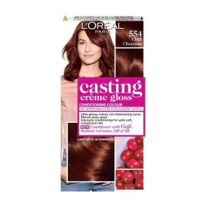 L'Oreal Casting Creme Semi Permanent Hair Dye Gloos 554 Chilli Chocolate