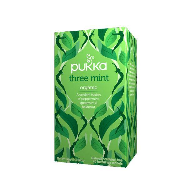 Pukka Three Mint Tea – 20 Tea Bags