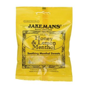 Jakemans Honey & Lemon Menthol Sweets (100g)