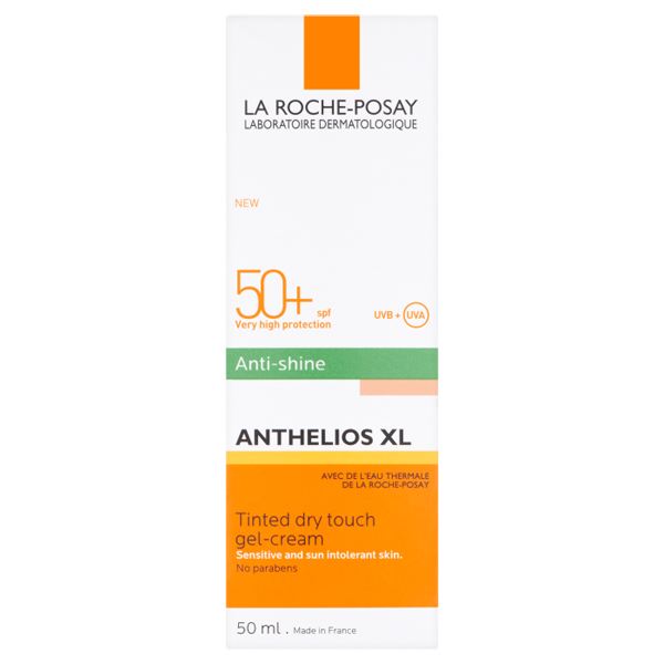 La Roche-Posay Anthelios Anti Shine Tinted SPF50+ Gel Cream 50ml
